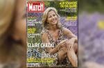Claire Chazal, star des étés de Paris Match