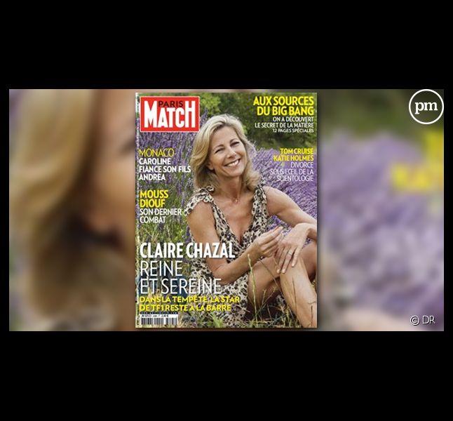 Claire Chazal, en Une de Paris Match... comme tous les étés.