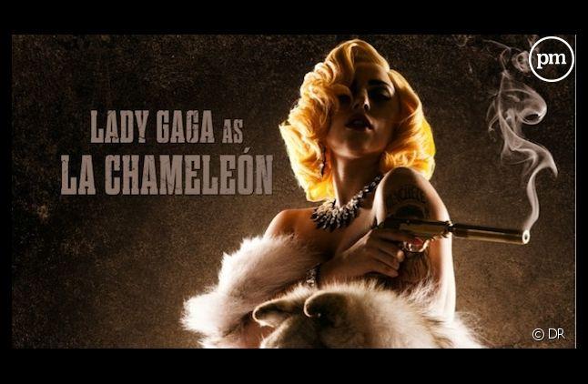 """Lady Gaga sera """"La Chaméléon"""" dans """"Machete Kills"""""""