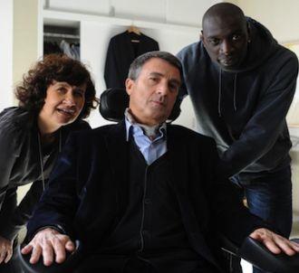 Scène du film 'Intouchables' avec François Cluzet et Omar...