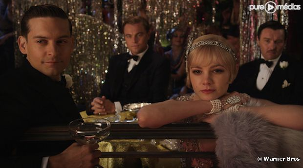 """Scène du film """"Gatsby le Magnifique"""" de Baz Luhrmann"""