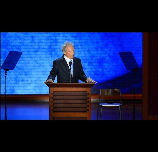 Clint Eastwood invité surprise de la convention républicaine de Tampa en Floride