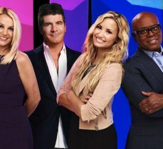 Britney Spears, Simon Cowell, Demi Lovato et L.A. Reid,...