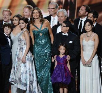 L'équipe de 'Modern Family' lors des Emmy Awards 2012