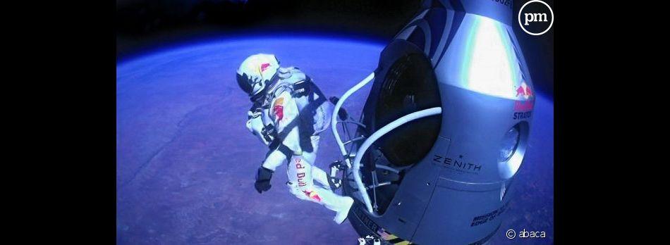 Très suivi sur internet, le saut de Félix Baumgartner a été aussi très regardé à la télévision.