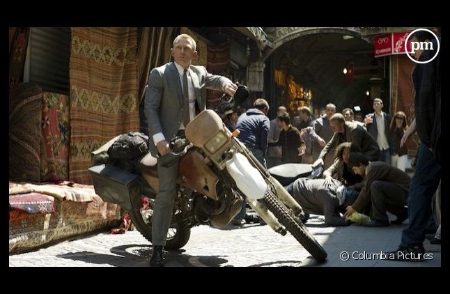 """""""Skyfall"""" avec Daniel Craig (2012)"""
