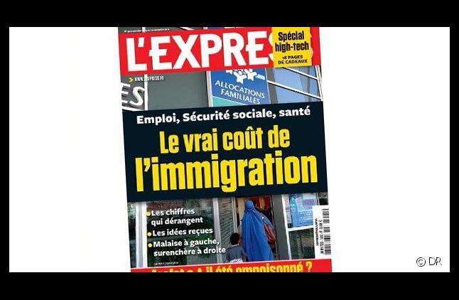 La Une de L'Express sur l'immigration.