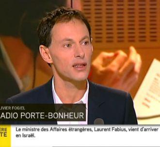 Marc-Olivier Fogiel, dans 'L'hebdo des médias' sur...