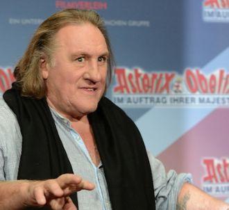 Gérard Depardieu chante en duo avec la fille du président...