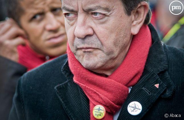 Jean-Luc Mélenchon crie fort, RMC le récompense en 2012.