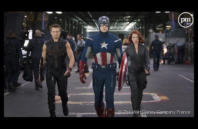 """""""Avengers"""" est le plus gros succès ciné de 2012"""