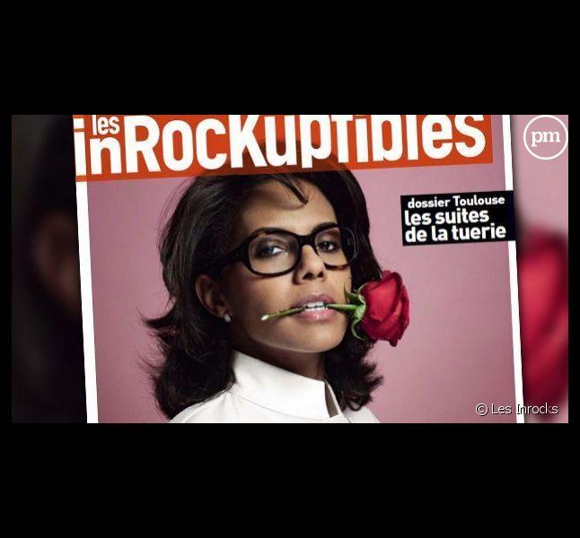 "Audrey Pulvar en une des ""Inrocks"""