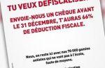 Une association caritative interpelle Depardieu dans une publicité provocatrice
