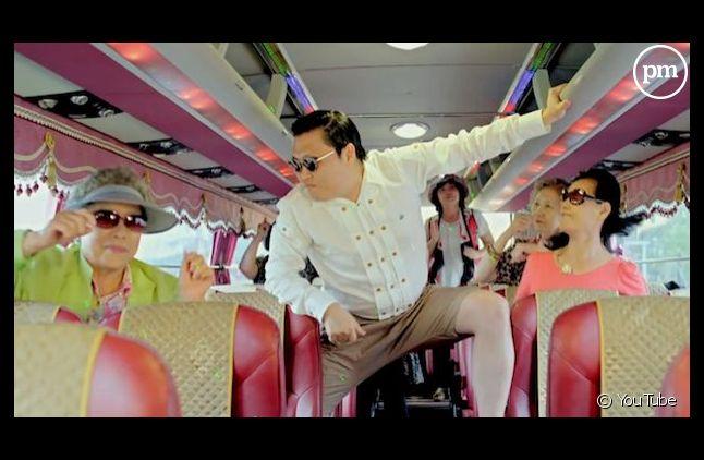 """PSY dans le clip de """"Gangnam Style"""""""