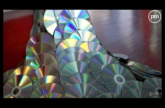 Le CD physique continue à chuter en France