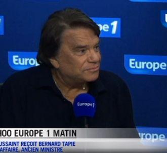 La femme de Bernard Tapie intervient sur Europe 1 pour...