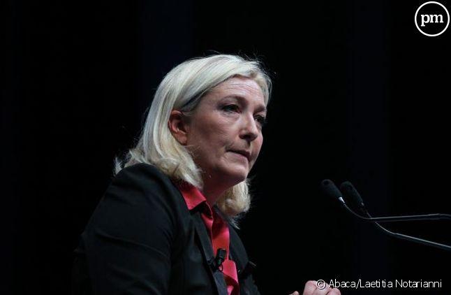 La leader du parti d'extrême-droite français arrive en deuxième position du sondage JDD.