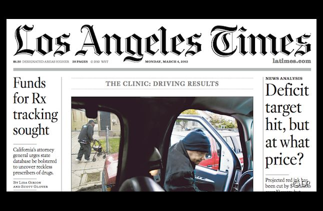 """Le """"Los Angeles Times"""" est à vendre"""