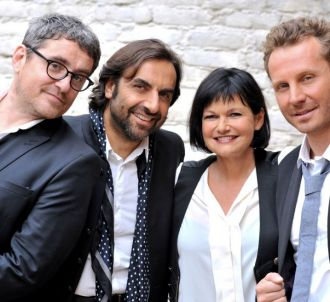 Le jury de 'Nouvelle Star' version D8.