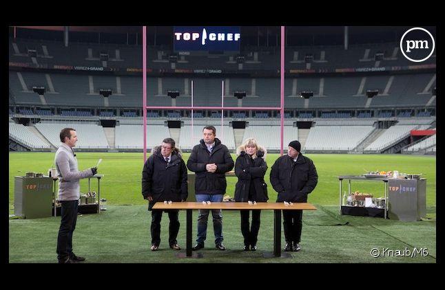 """""""Top Chef"""" s'invite au Stade de France dans sa saison 4."""