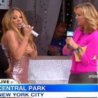La robe de Mariah Carey lâche en plein direct ! (vidéo)
