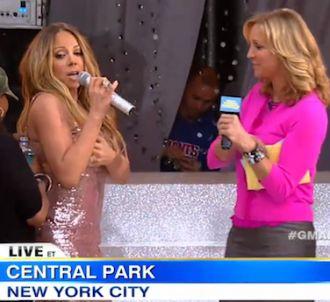 Problème de robe pour Mariah Carey à 'Good Morning...