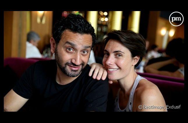Alessandra Sublet et Cyril Hanouna, vainqueurs des TV Notes 2013.