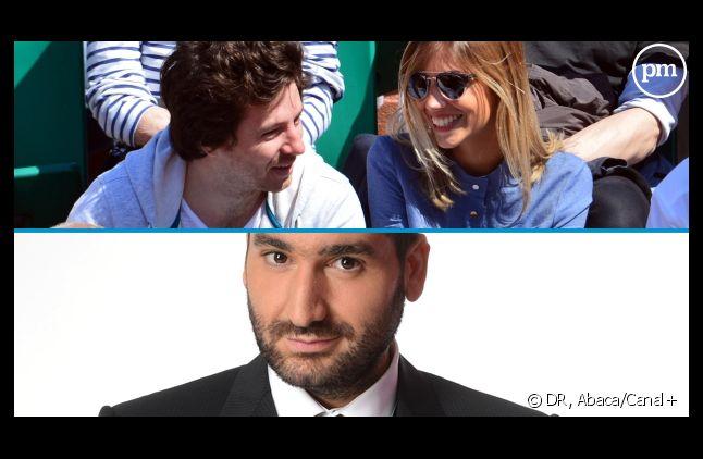 """Jean Imbert (""""Top Chef"""") et Alexandra Rosenfeld, ex-Miss France, produits par Mouloud Achour."""