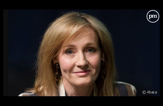 "J.K. Rowling, auteure de la saga ""Harry Potter"""