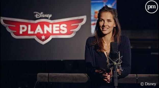 """Mélissa Theuriau s'essaie au doublage dans """"Planes"""""""