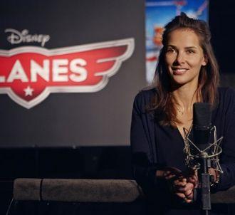 Mélissa Theuriau s'essaie au doublage dans 'Planes'