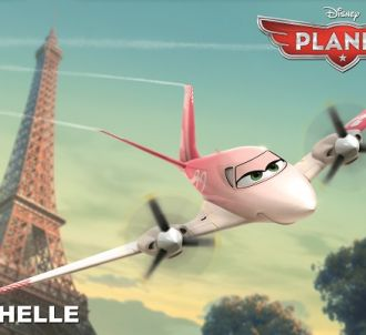 Mélissa Theuriau double Rochelle dans 'Planes'