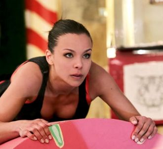 Marine Lorphelin (Miss France 2013) dans 'Fort Boyard',...