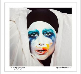 Pochette du single 'Applause' de Lady Gaga