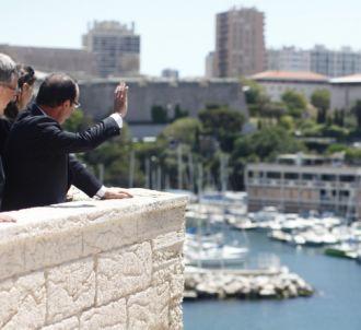 Visite présidentielle à Marseille en juin 2013.