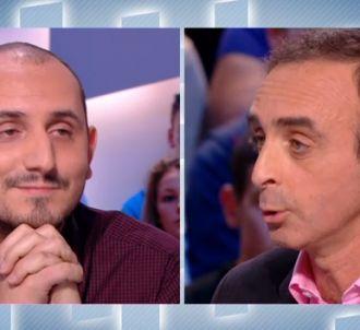 Karim Rissouli face à Eric Zemmour.