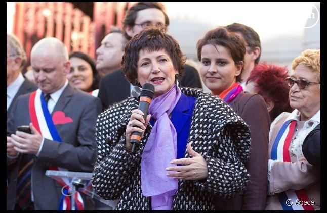 Dominique Bertinotti, ministre déléguée à la Famille
