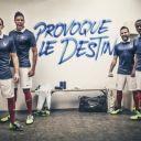 Le nouveau maillot de l'équipe de France pour la Coupe du monde au Brésil 2014