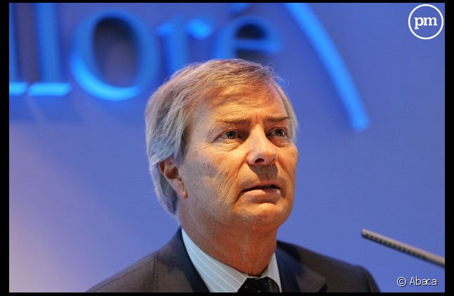 Vincent Bolloré, le futur président de Vivendi