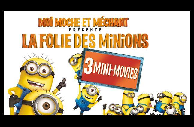 """""""Les Minions"""" héros de trois mini-films offerts"""