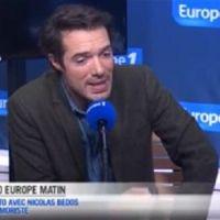 Menacé, Nicolas Bedos vit