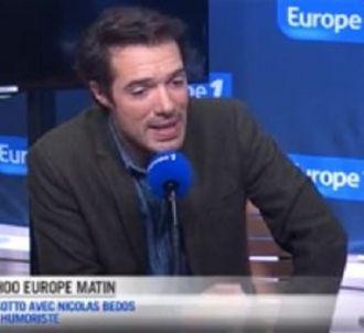 Nicolas Bedos sur Europe 1 ce matin