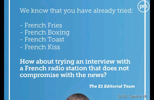 Europe 1 demande une interview à Barack Obama