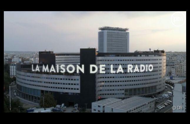 """""""La maison de la radio"""", siège et studios de Radio France."""