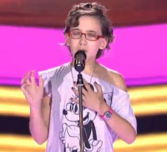 Iralia avait ému aux auditions à l'aveugle de 'La Voz...
