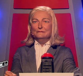 Marine Le Pen, coach de 'The Extreme Voice'.
