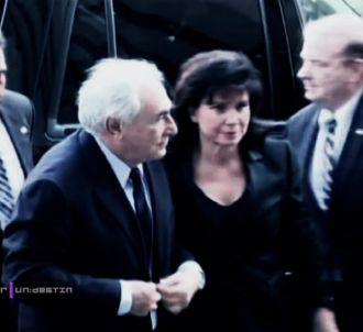 Anne Sinclair dans 'Un jour, un destin' sur France 2.