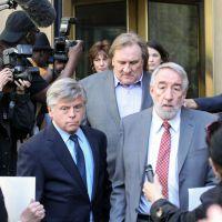 Gérard Depardieu fustige les interviews d'Anne Sinclair par Delahousse et de DSK par Chazal