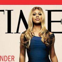 Laverne Cox, première transsexuelle en Une du magazine