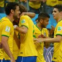 Les Brésiliens ravis de leur victoire contre la Croatie